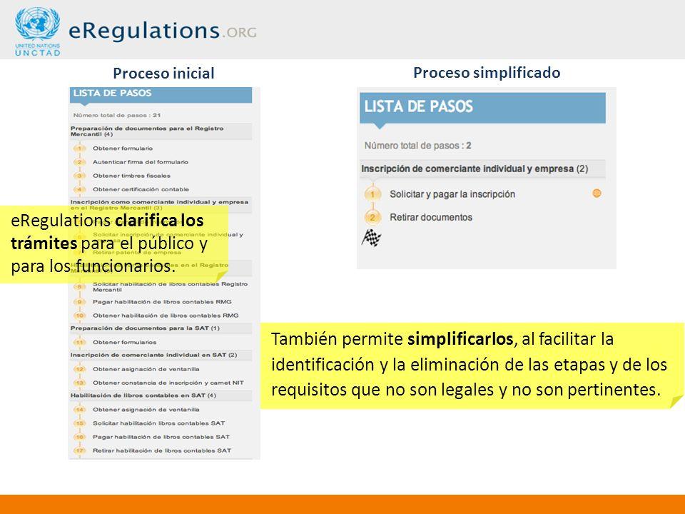 eRegulations clarifica los trámites para el público y para los funcionarios.