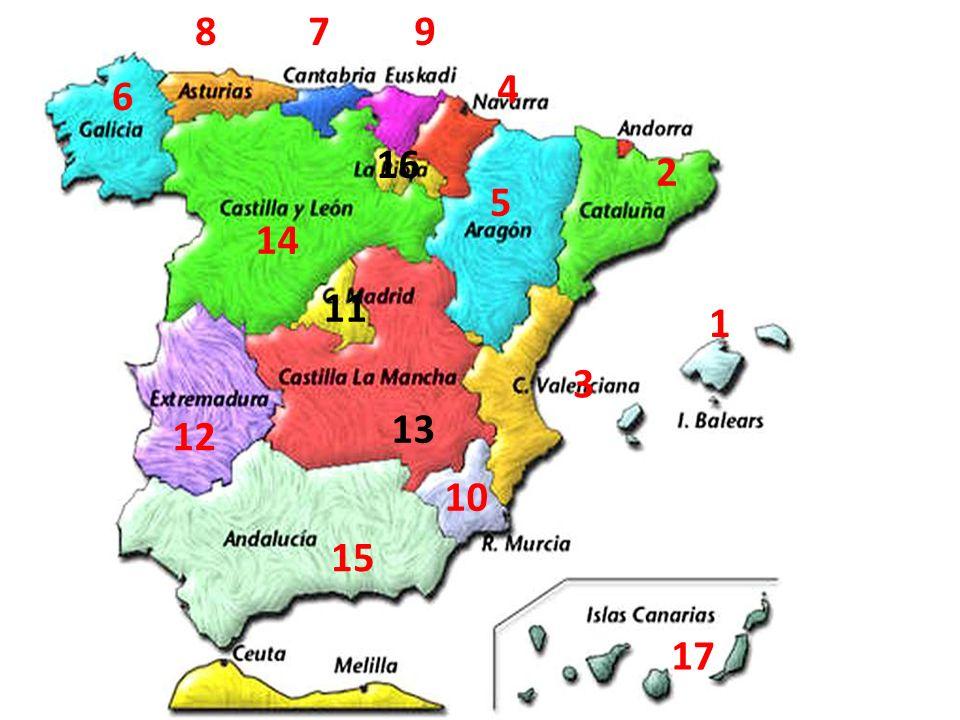10.¿Cuáles son los equivalentes en castellano.1. Papas 2.
