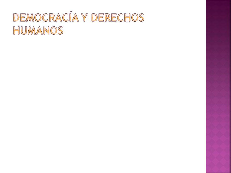 Promover los valores, principios y características que sustentan la democracia y los derechos humanos, mediante la reflexión ética en torno a los mismos, el reconocimiento de los problemas, obstáculos y peligros que enfrentan para su desarrollo, mostrando actitudes de equidad, solidaridad, justicia, respeto, justicia y libertad de sus prácticas y acciones, y la exposición de tus ideas.