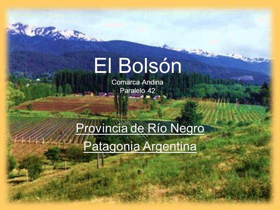 El Bolsón Comarca Andina Paralelo 42 Provincia de Río Negro Patagonia Argentina