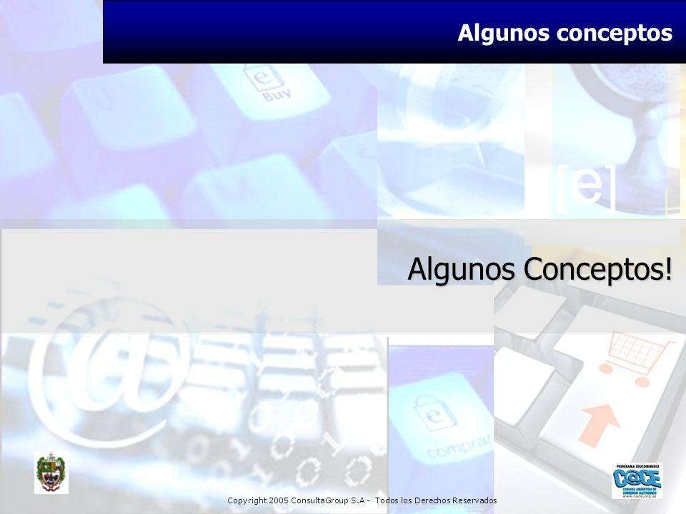 Copyright 2005 ConsultaGroup S.A - Todos los Derechos Reservados Algunos Conceptos! Algunos conceptos