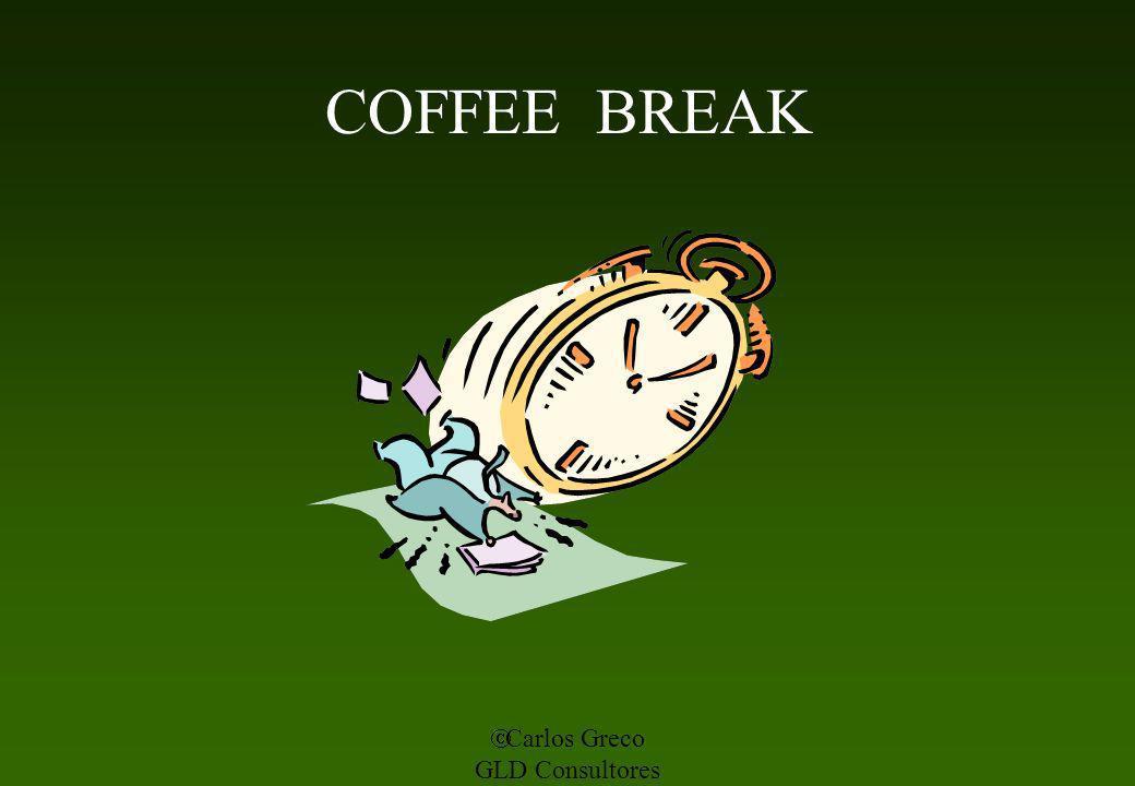 Carlos Greco GLD Consultores COFFEE BREAK