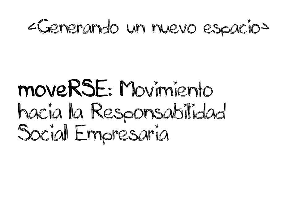 moveRSE : Movimiento hacia la Responsabilidad Social Empresaria