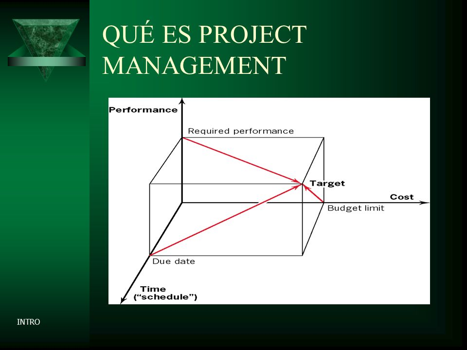 QUÉ ES PROJECT MANAGEMENT INTRO