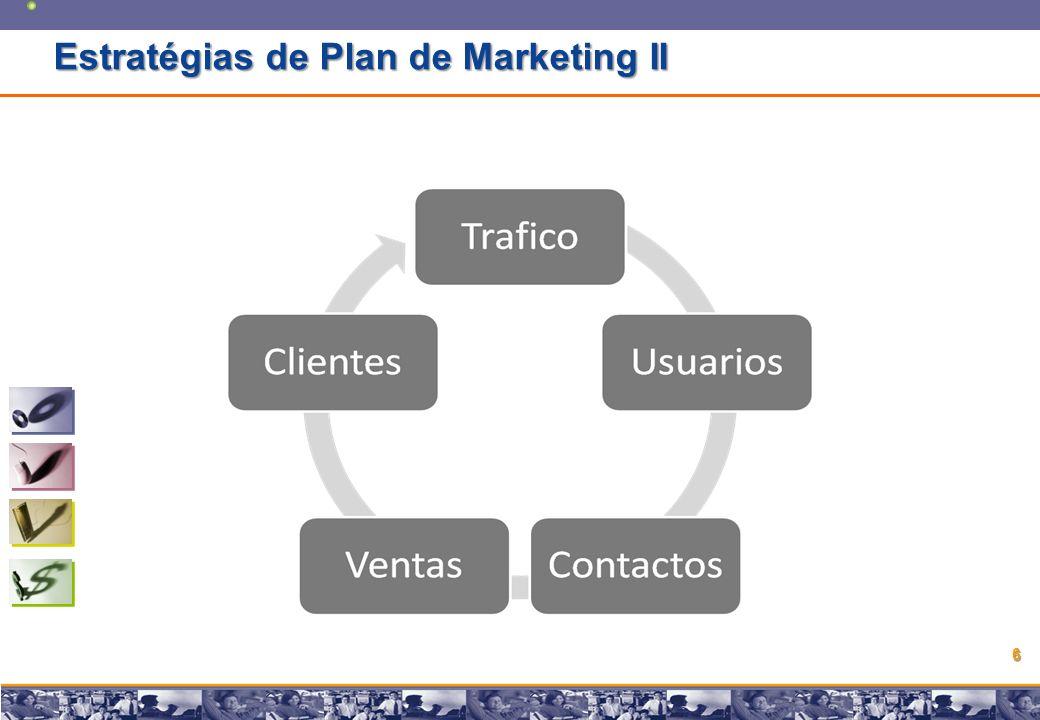 Copyright © 2008 Marcos Pueyrredon Copyright © 2008 Marcos Pueyrredon 6 Estratégias de Plan de Marketing II