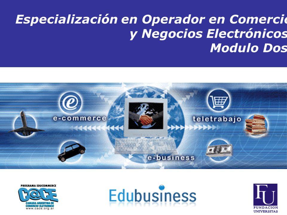 Fuente:Presentaciones online y eleaboracion propia Copyright 1999-2007 ITSA Business Network - Todos los Derechos Reservados Inicio Especialización en Operador en Comercio y Negocios Electrónicos Modulo Dos