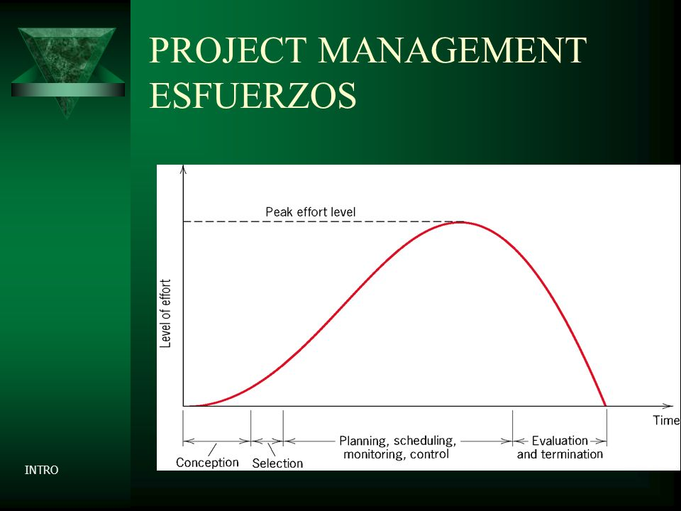 PROJECT MANAGEMENT ESFUERZOS INTRO