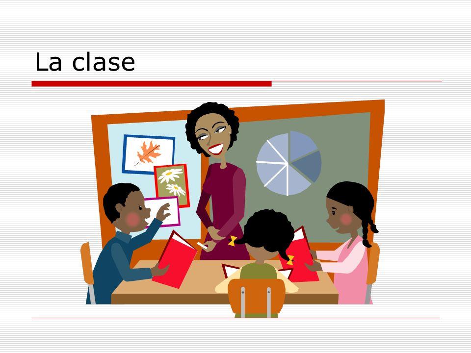 El horario-grammar Q: ¿Quién es la profesora de la clase de ….