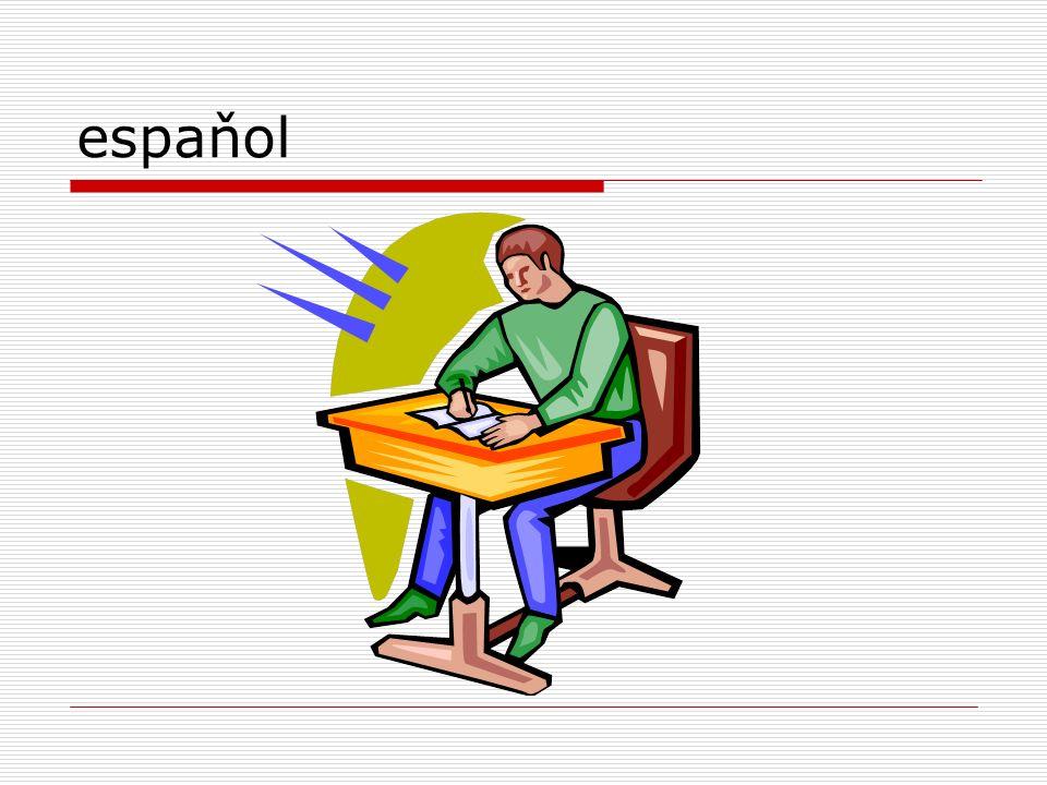 El horario-grammar Q: ¿tienes mucha tarea en la clase de arte.