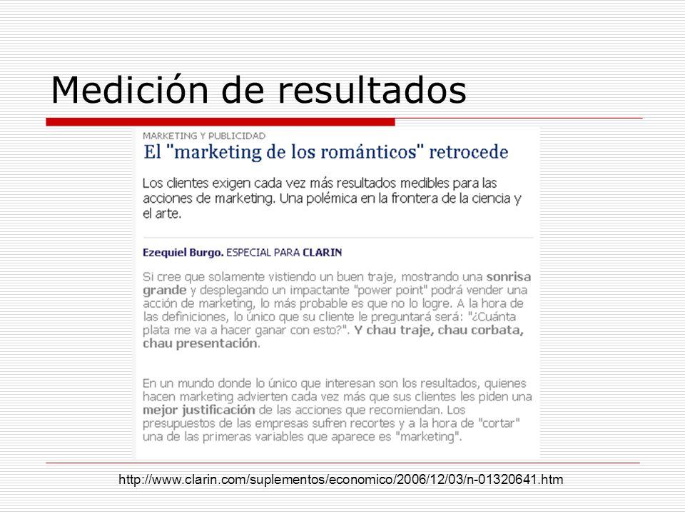 Medición de resultados http://www.clarin.com/suplementos/economico/2006/12/03/n-01320641.htm