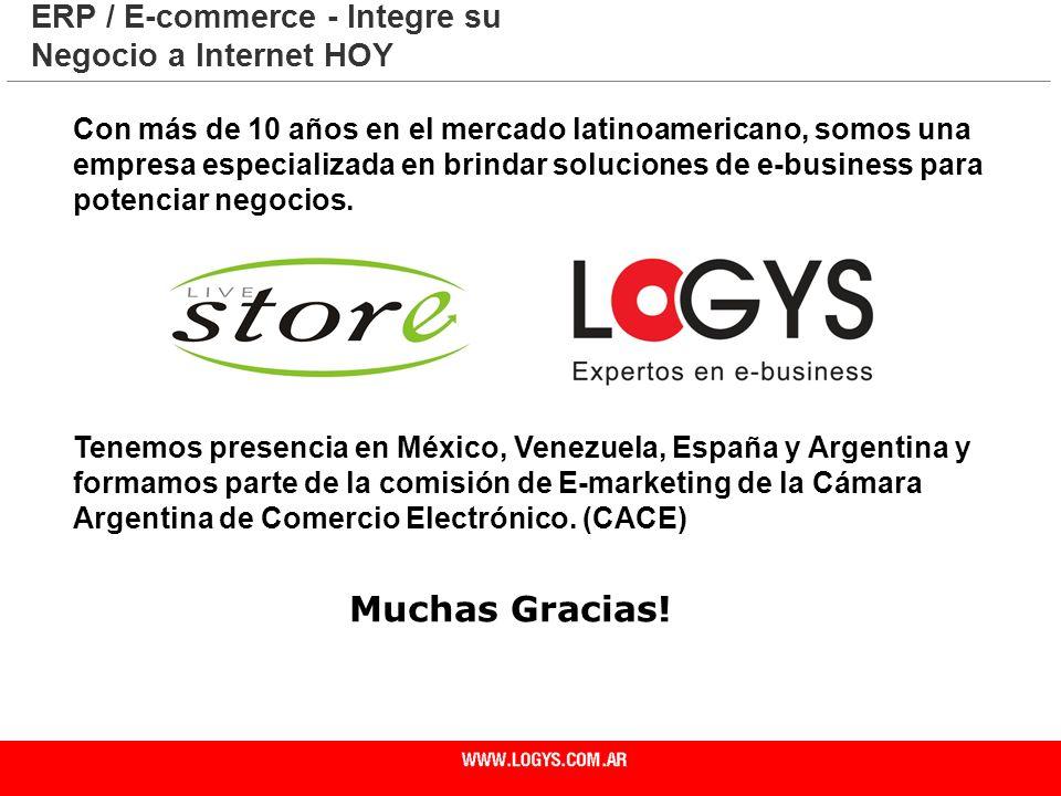 Página 31 Con más de 10 años en el mercado latinoamericano, somos una empresa especializada en brindar soluciones de e-business para potenciar negocio