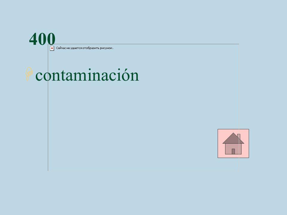 400 Hcontaminación