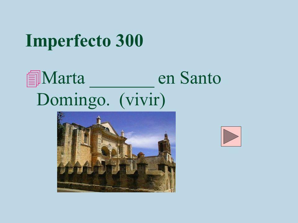 Imperfecto 300 Hvivía