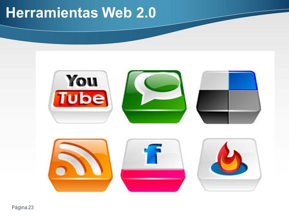 Página 23 Herramientas Web 2.0