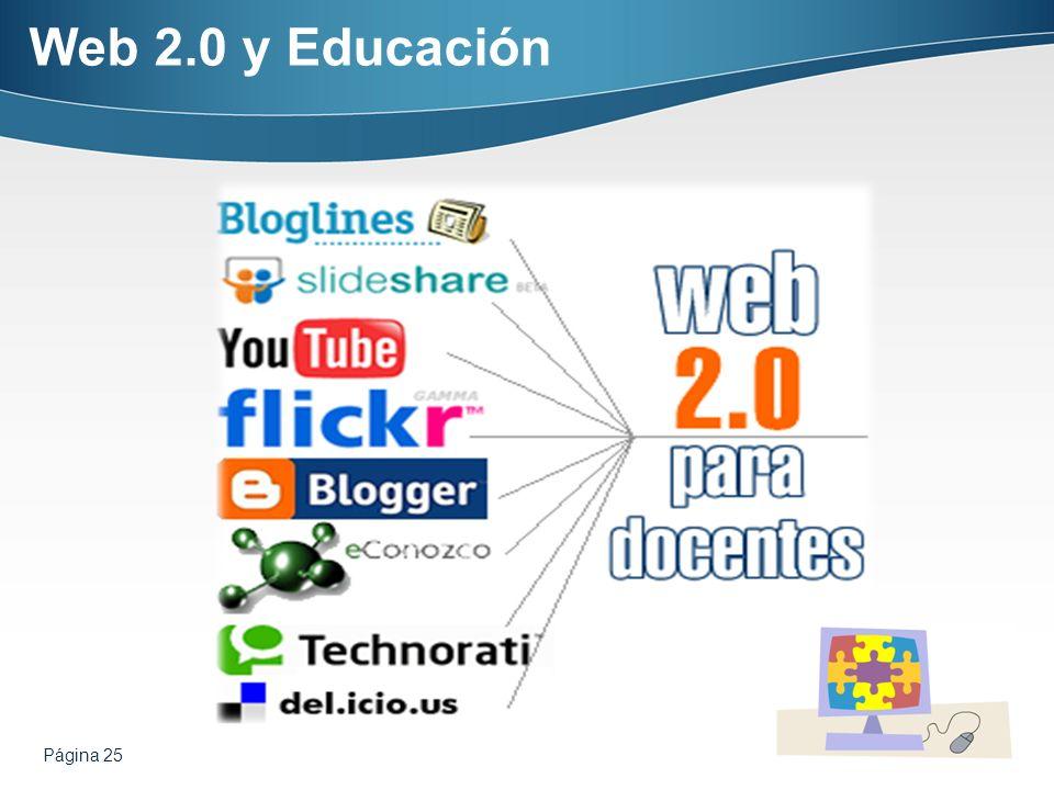 Página 25 Web 2.0 y Educación