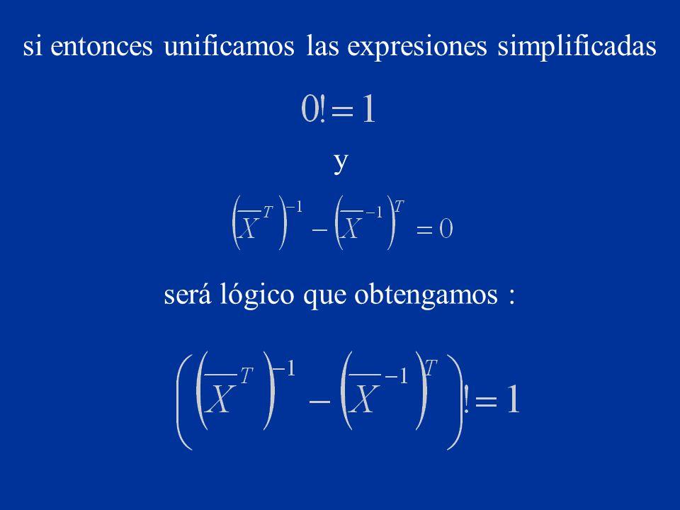 Aplicando las simplificaciones descritas en la expresión la obtendremos en una forma totalmente elegante y legible, a su vez sencilla y comprensible para cualquiera: ahora es extremadamente evidente que esa ecuación es mucho más comprensible que la original :