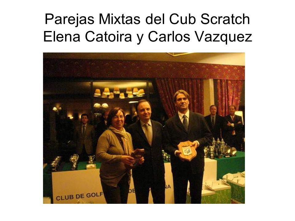 Parejas Mixtas del Cub Scratch Elena Catoira y Carlos Vazquez