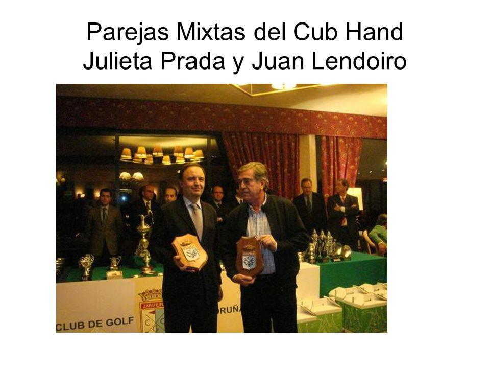 Parejas Mixtas del Cub Hand Julieta Prada y Juan Lendoiro