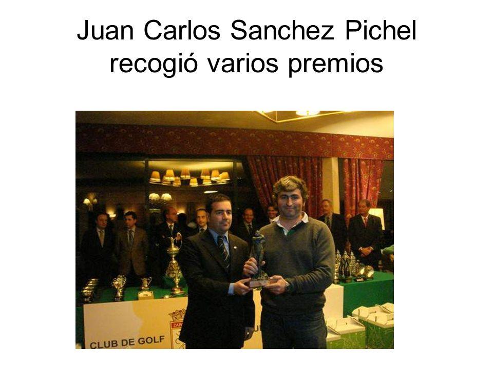Juan Carlos Sanchez Pichel recogió varios premios