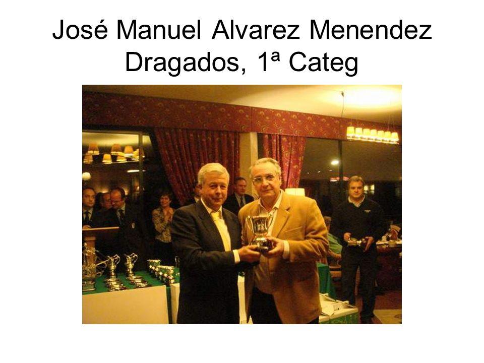 José Manuel Alvarez Menendez Dragados, 1ª Categ