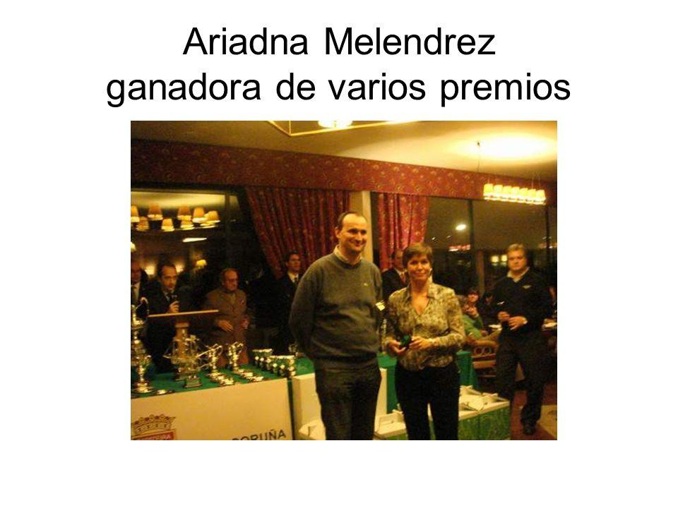 Ariadna Melendrez ganadora de varios premios