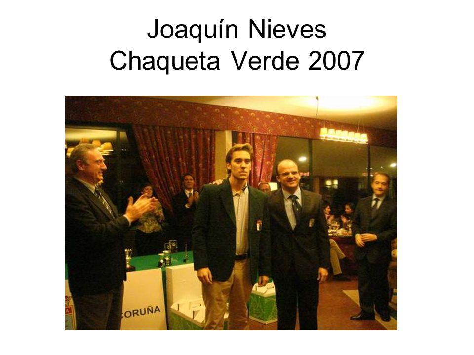 Joaquín Nieves Chaqueta Verde 2007