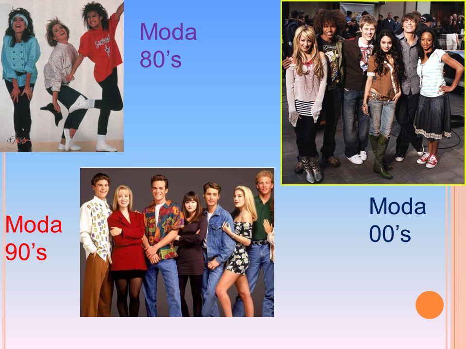 Moda 80s Moda 90s Moda 00s