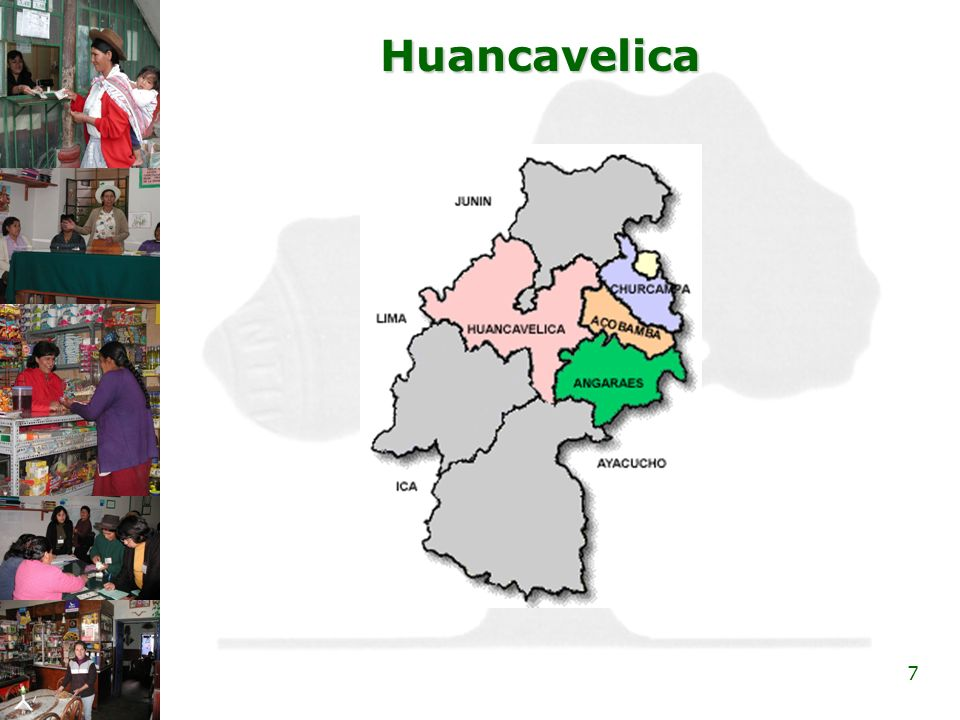 8 Lima Metropolitana »Lima Sur »Villa El Salvador »Villa María del Triunfo »San Juan de Miraflores »Lima Este »San Juan de Lurigancho