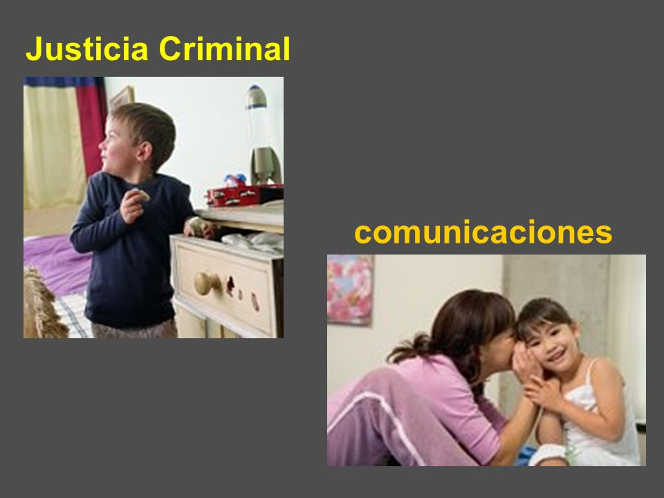 comunicaciones Justicia Criminal