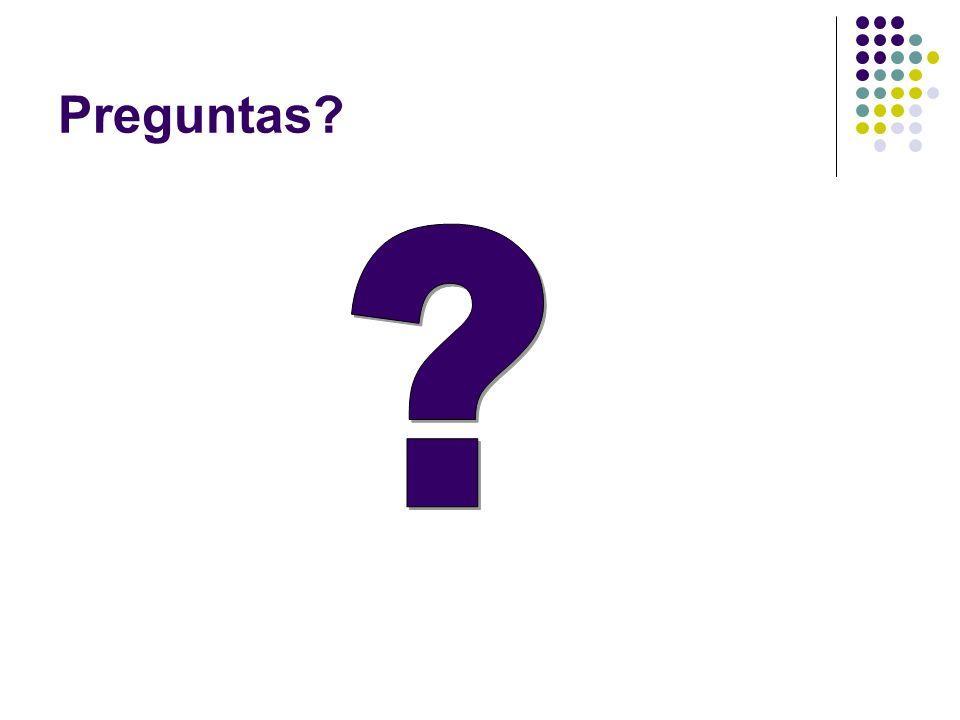 Preguntas?