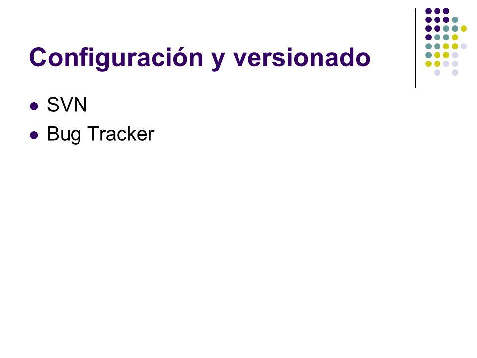 Configuración y versionado SVN Bug Tracker