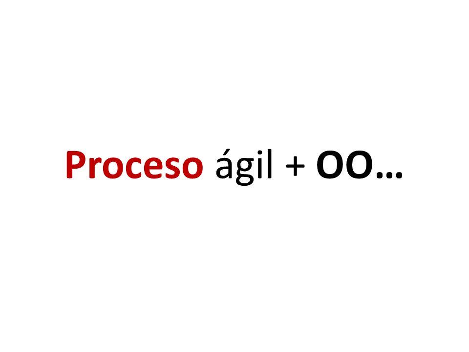 Proceso ágil + OO…