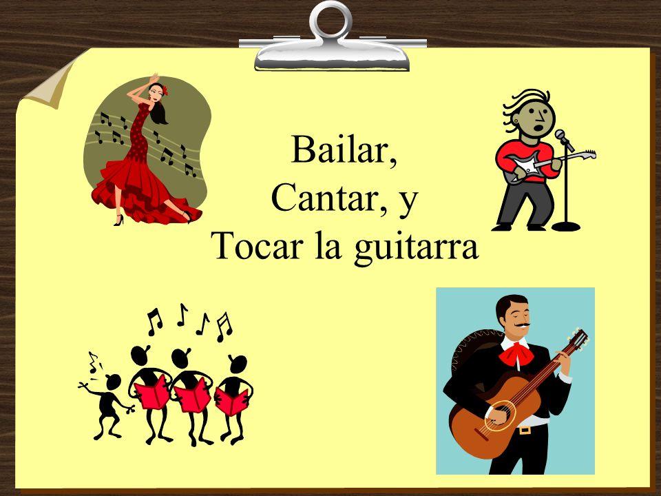 tocamos tocan toco tocas toca Nosotros cantamos música de rock y ________ la guitarra.