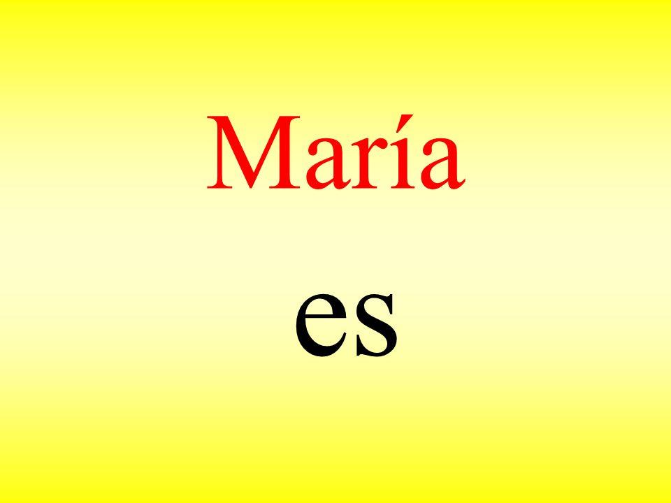 María es