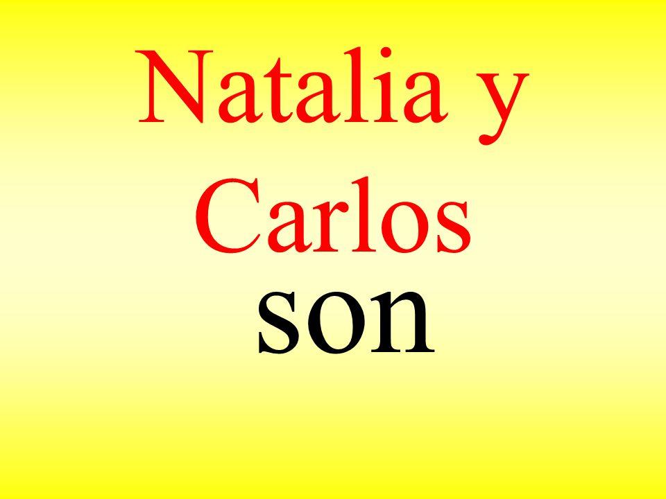 Natalia y Carlos son