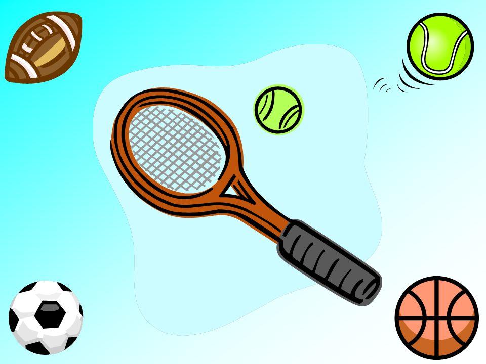 la raqueta y la bola