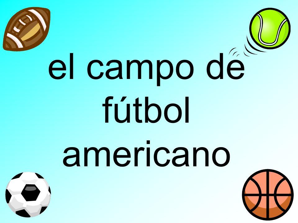 el campo de fútbol americano