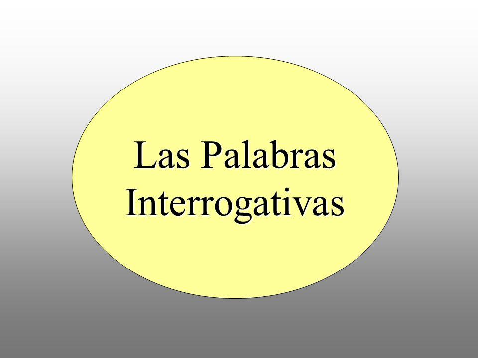 1. ¿________ clase es? Es la clase de español. Quién Qué Cómo