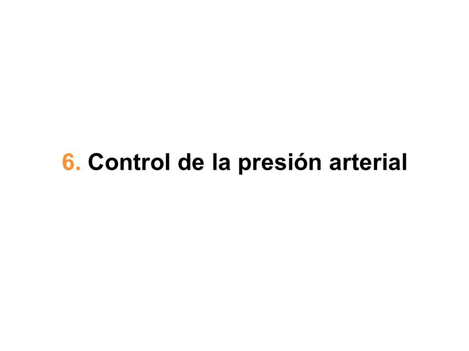 6. Control de la presión arterial