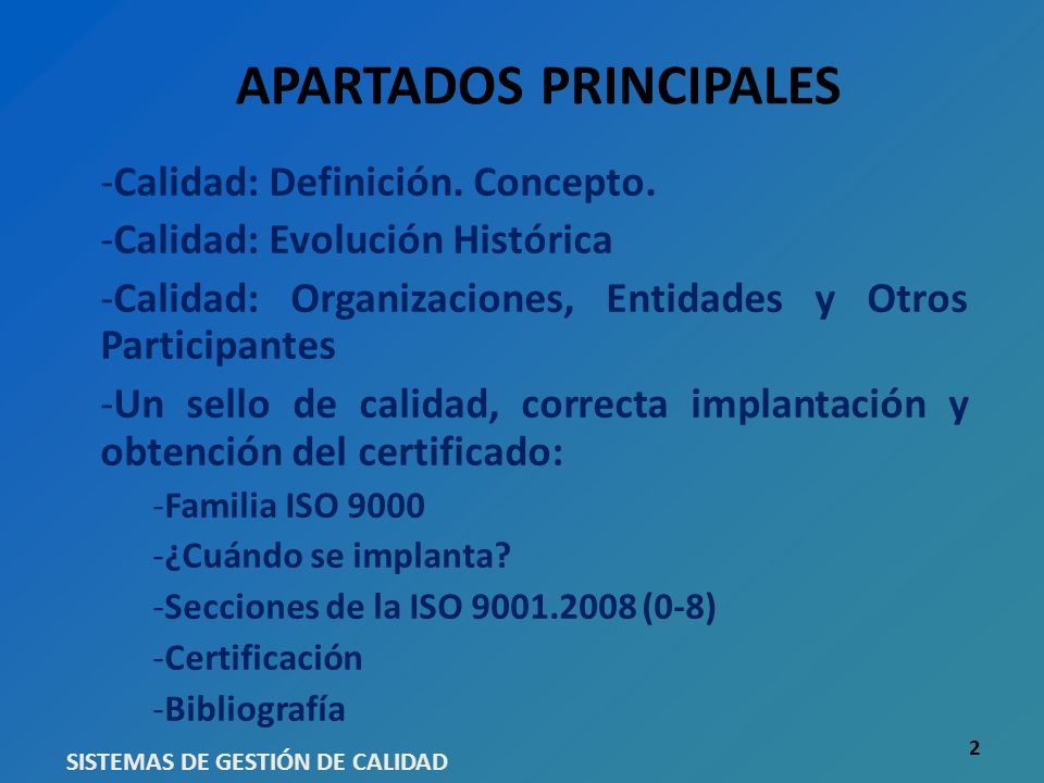 BIBLIOGRAFIA www.enac.es www.aenor.es http://www.iso.org/iso/iso_catalogue/management_and_leader ship_standards/quality_management/iso_9001_2008.htm http://www.iso.org/iso/iso_catalogue/management_and_leader ship_standards/quality_management/iso_9001_2008.htm ISO 9000.2008 ISO 9001.2008 ISO 9004.2008 Entidad de Normalización Británica BSI (British Standard Institution): www.bsigroup.es/es/www.bsigroup.es/es/ ISO 9004.2009 SISTEMAS DE GESTIÓN DE CALIDAD 23