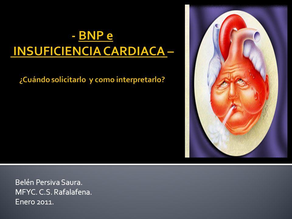 La Insuficiencia cardiaca (IC) se perfila como una verdadera epidemia del siglo XXI: Elevada incidencia, elevada prevalencia, gran impacto en la morbimortalidad poblacional, y elevados costos en salud.