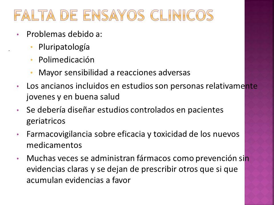 CARACTERISTICAS FUNCIONES FISIOLOGICAS BAJA ADAPTACION DE REGIMEN TERAPEUTICO INTELECTUAL Y SENSORIAL POLIPATOLOGIA ALTERACION FARMACOCINETICA Y FARMACODINAMICA POLIFARMACIA NRO.