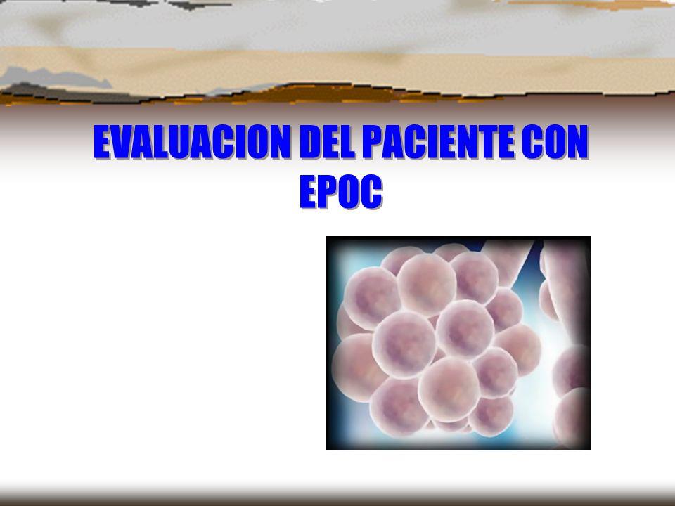 Clasificación según el FEV1 Gravedad FEV1 Leve > 80% Moderada > 50% y < 80% Grave > 30% y < 50% Muy grave < 30% o < 50% con insuficiencia respiratoria crónica Normativa SEPAR.
