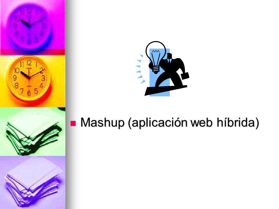¿Qué es un mashup?
