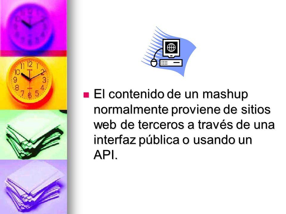 Una aplicación web híbrida (mashup o remezcla), es un sitio web o aplicación web que usa contenido de otras aplicaciones Web para crear un nuevo conte