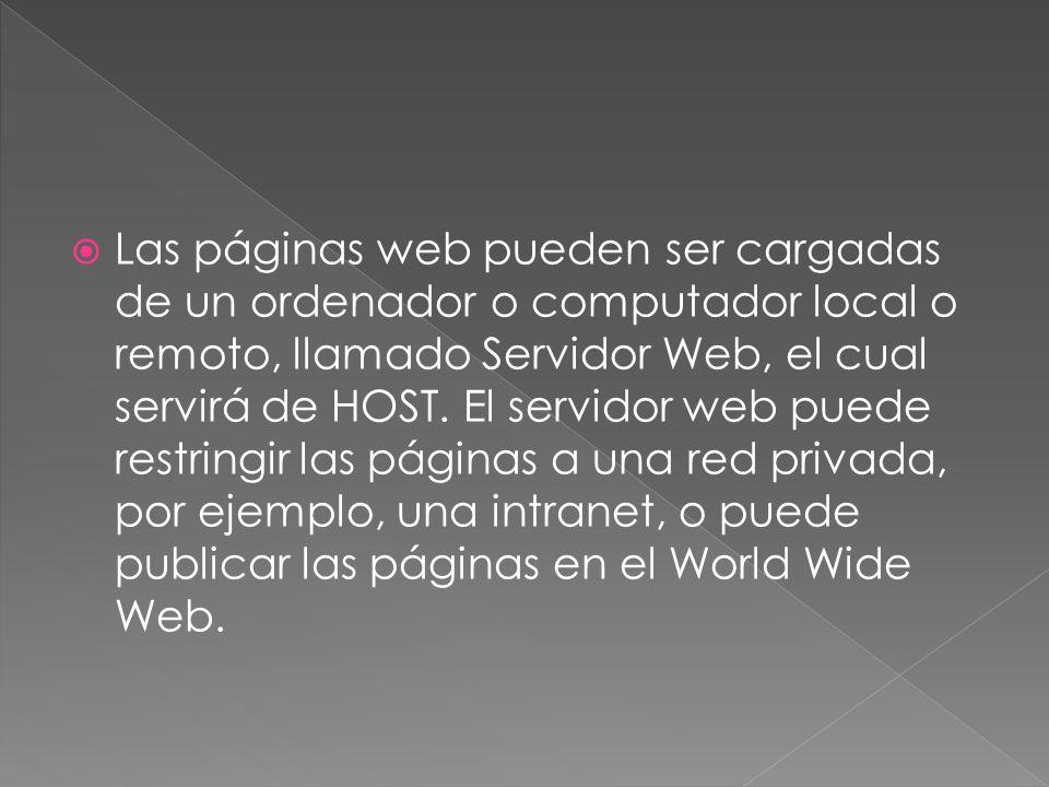 La World Wide Web es un sistema de documentos de hipertexto y/o hipermedios enlazados y accesibles a través de Internet.