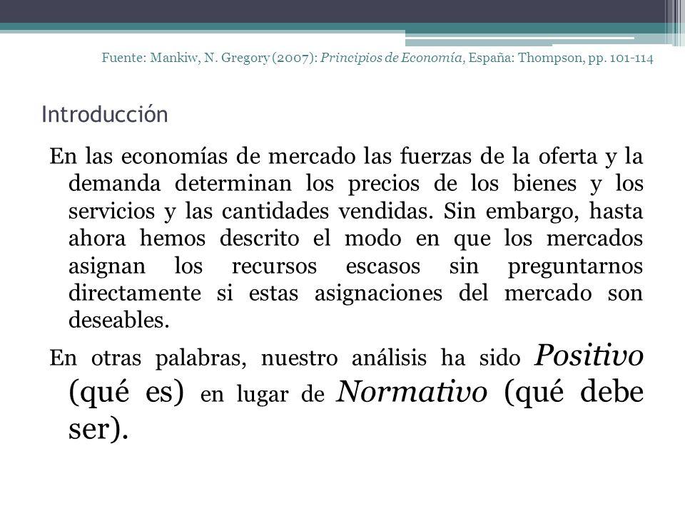 Introducción Fuente: Mankiw, N. Gregory (2007): Principios de Economía, España: Thompson, pp.