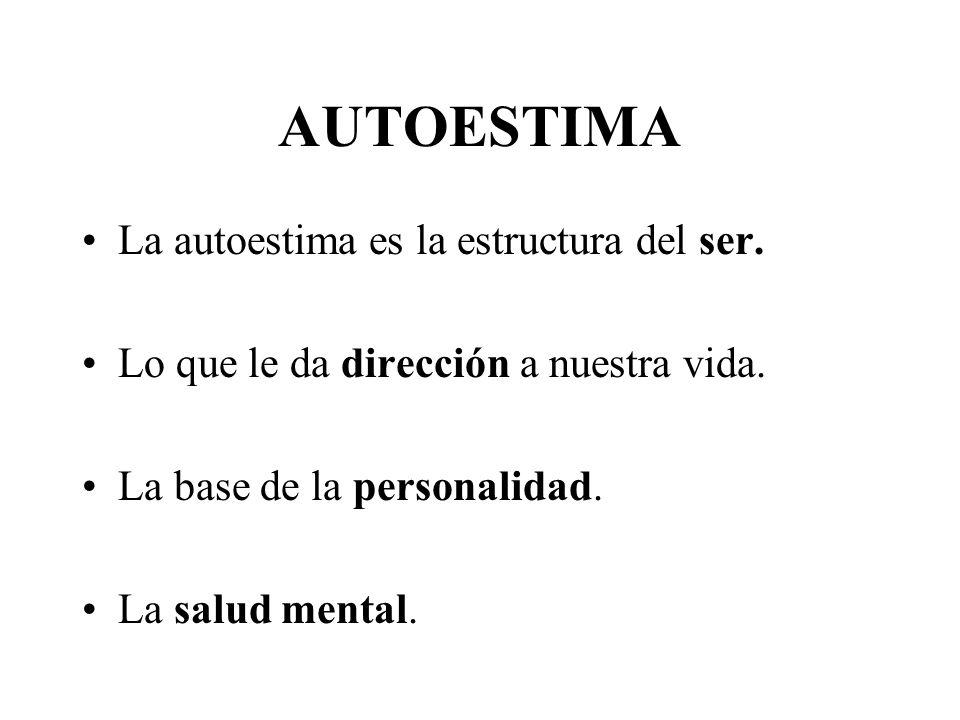 Definición de Autoestima El concepto autoestima se compone del prefijo auto que significa propio y la palabra estima que significa aprecio. Entonces,