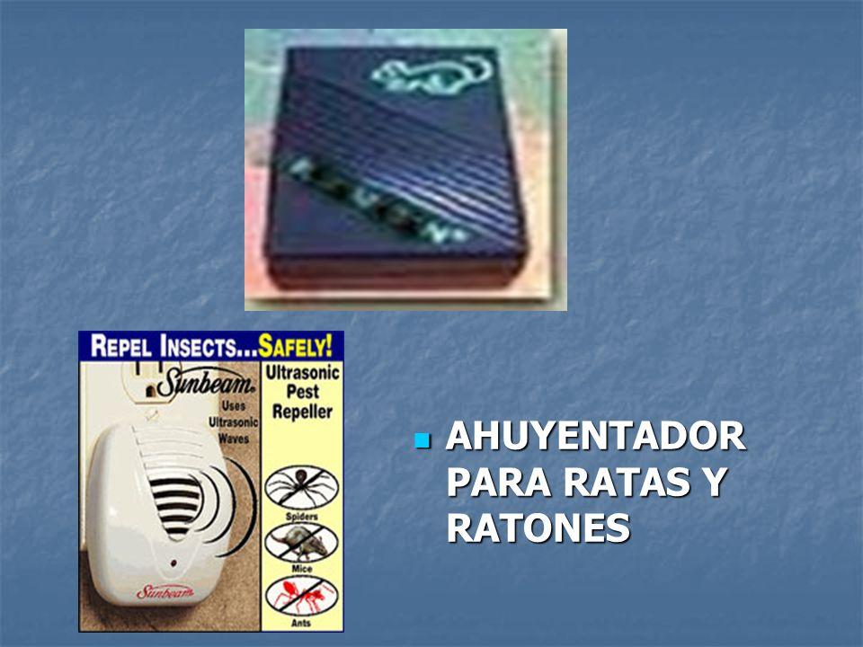 AHUYENTADOR PARA RATAS Y RATONES AHUYENTADOR PARA RATAS Y RATONES