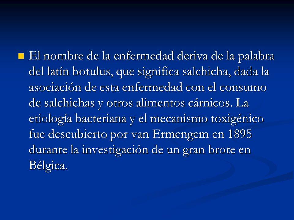 En 1976, se empezaron a describir los primeros casos de botulismo en el lactante.